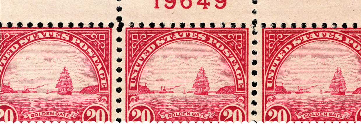 Golden Gate stamp 20c
