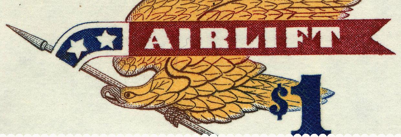 Airmail Eagle 8c
