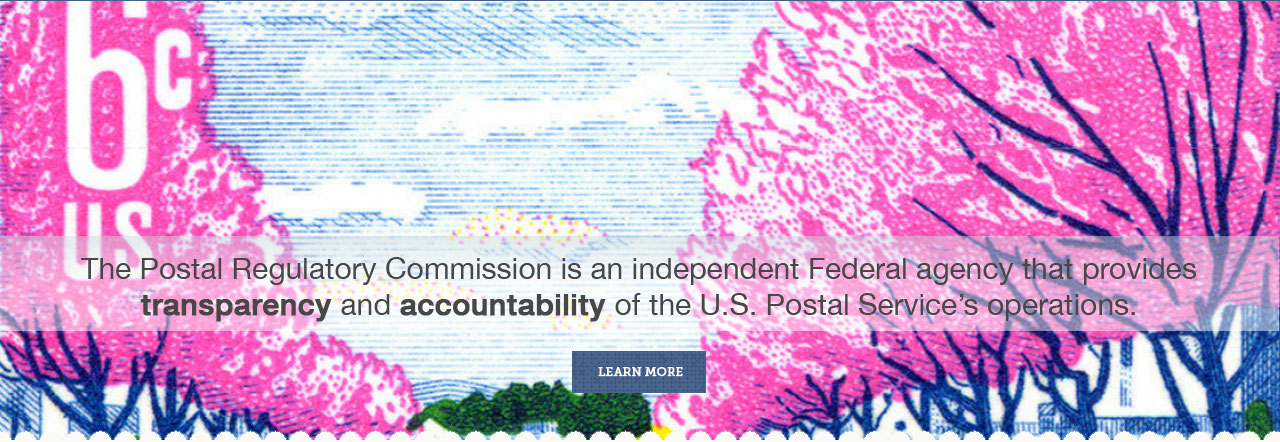 6¢ trees stamp. The PRC provides transparency and accountability of the USPS operations.  Learn more.